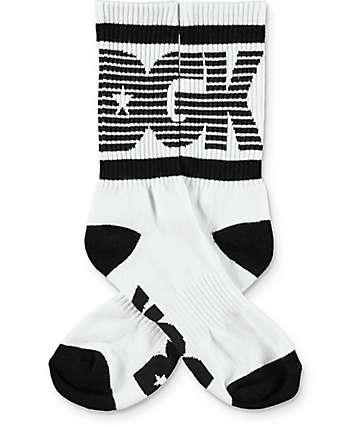 DGK Balanced Black & White Crew Socks