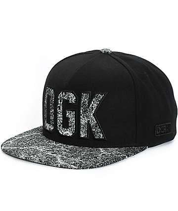 DGK Blacktop Snapback Hat