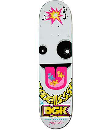 "DGK Boo Chain Gang 8.0""  Skateboard Deck"