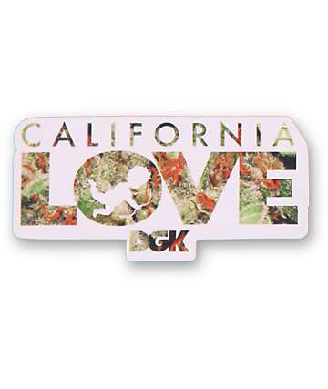 DGK Cali Love Sticker