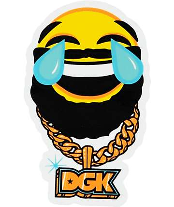 DGK Chain Gang Sticker