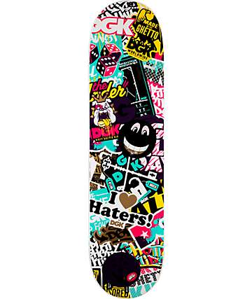 "DGK Collage 7.8"" Skateboard Deck"