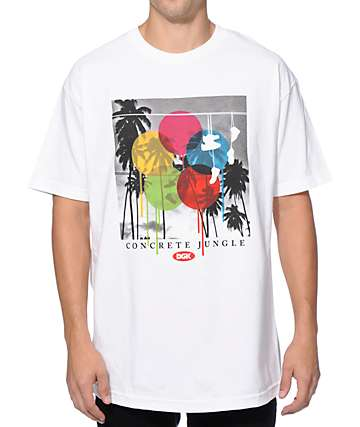 DGK Concrete Jungle T-Shirt