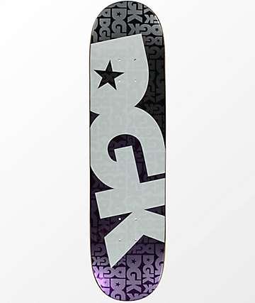 """DGK Contrast Purple Foil 7.8"""" tabla de skate"""