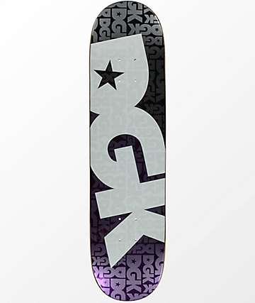 "DGK Contrast Purple Foil 7.8"" Skateboard Deck"