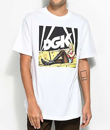 DGK Couch White T-Shirt