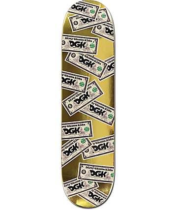 "DGK Cream 8.0"" tabla de skate"