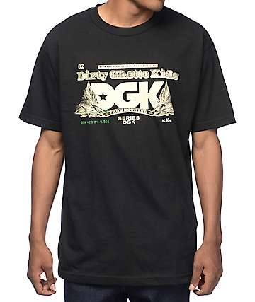DGK Cream Black T-Shirt