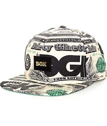 DGK Cream Snapback Hat