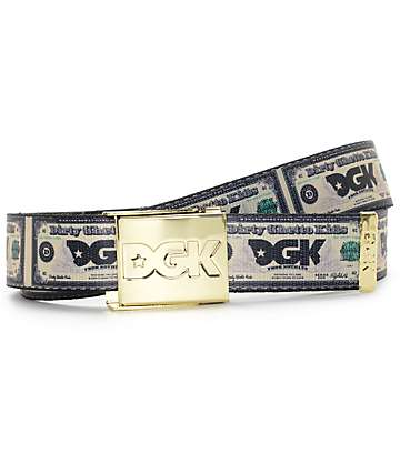 DGK Cream Web Belt