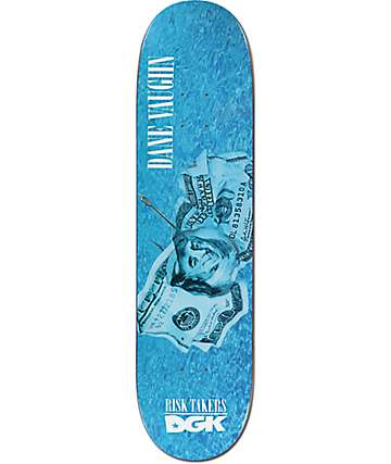 "DGK Dane Vaughn Risk Takers 8.06"" Skateboard Deck"