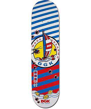 "DGK Desarmo Established 8.1"" Skateboard Deck"