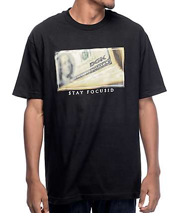 DGK Dollars camiseta negra