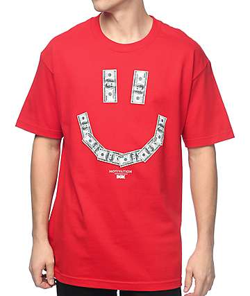 DGK Don't Worry Red T-Shirt