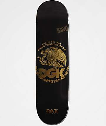 "DGK Familia Black & Gold Foil 8.25"" tabla de skate"
