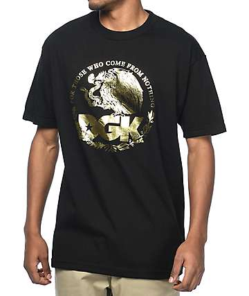 DGK Familia Metallic Black T-Shirt