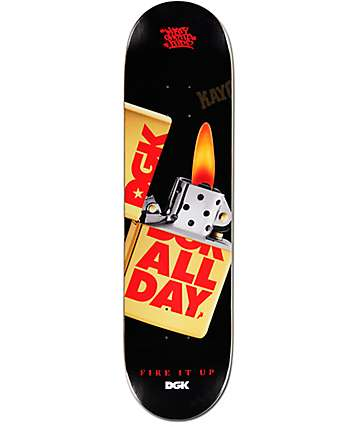 "DGK Fire It Up 8.10"" Skateboard Deck"