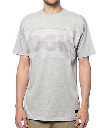 DGK Flight Heather Grey T-Shirt