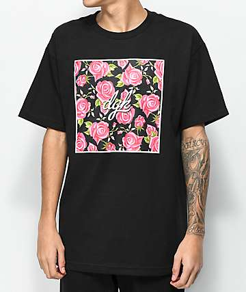 DGK Floral Box Black T-Shirt