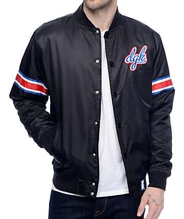 DGK Free Agent Starter Black Jacket