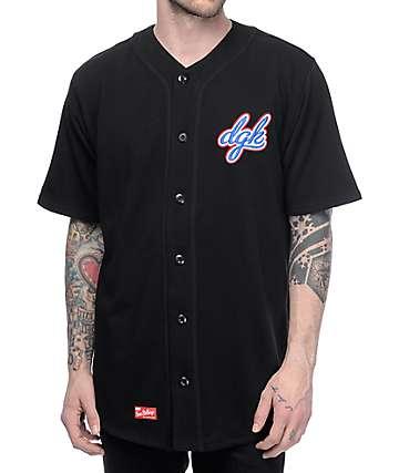 DGK Free Agent jersey de béisbol en negro