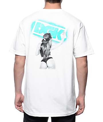 DGK Get Up White T-Shirt