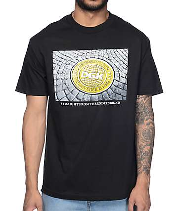 DGK Ground Up Black T-Shirt