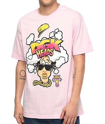 DGK Heads camiseta rosa