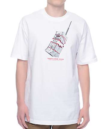 DGK Hello camiseta blanca