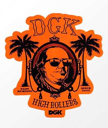 DGK High Rollers pegatina