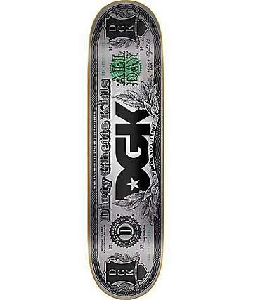 """DGK Hundo Foil 8.06"""" Skateboard Deck"""