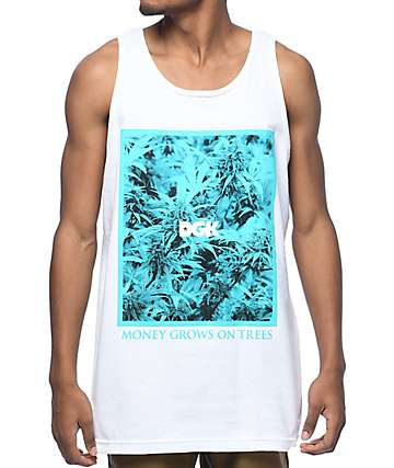 DGK Hydro White Tank Top