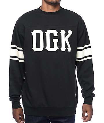 DGK Inning Black Long Sleeve Shirt