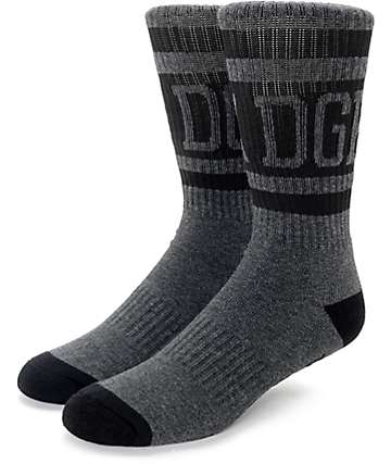 DGK International Black Crew Socks