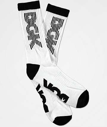 DGK Levels White Crew Socks