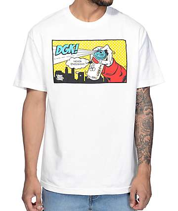 DGK Life Is DGK White T-Shirt
