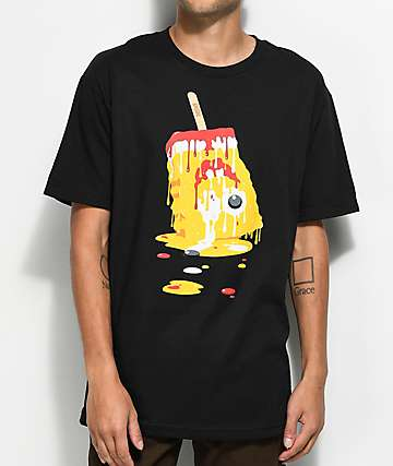 DGK Melted Black T-Shirt