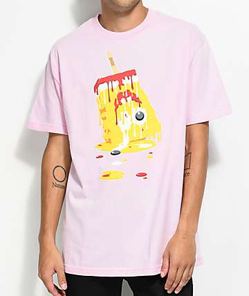 DGK Melted camiseta rosa