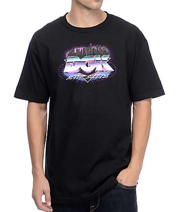 DGK Nocturnal Black T-Shirt