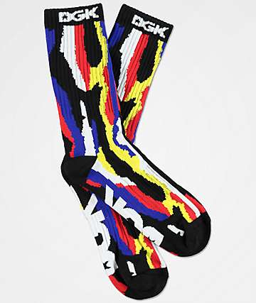 DGK Notorious Black Crew Socks
