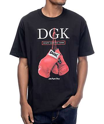 DGK Peoples Champ Black T-Shirt