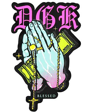 DGK Pray Sticker