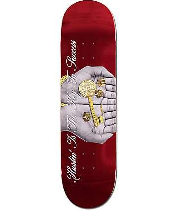 """DGK Prosperity Red Foil 7.75"""" tabla de skate"""