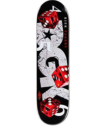 "DGK Risk Takers 8.10"" Skateboard Deck"