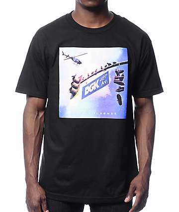 DGK Schemes Black T-Shirt