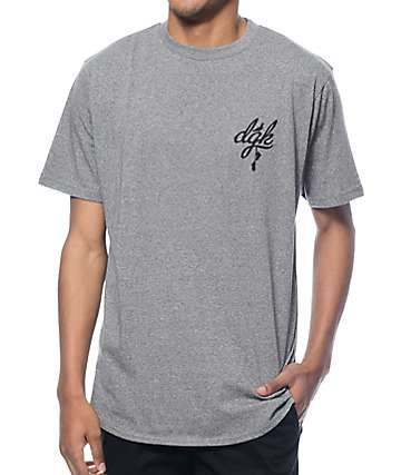 DGK School Yard Grey Long T-Shirt