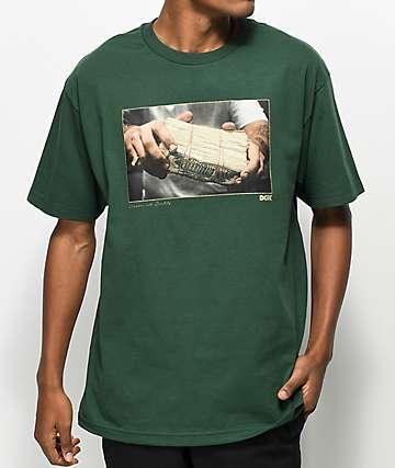 DGK Stack Green T-Shirt