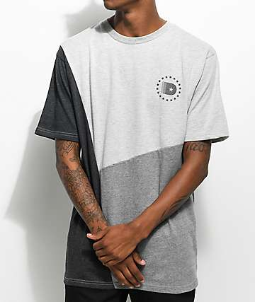 DGK Starline camiseta en gris y color plomo