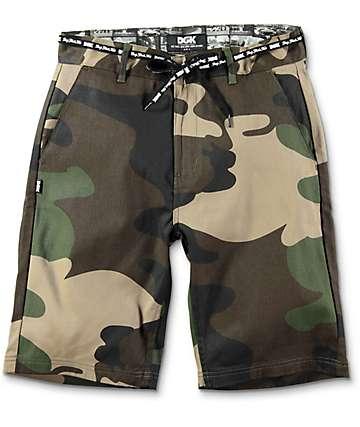 DGK Street Camo shorts chinos