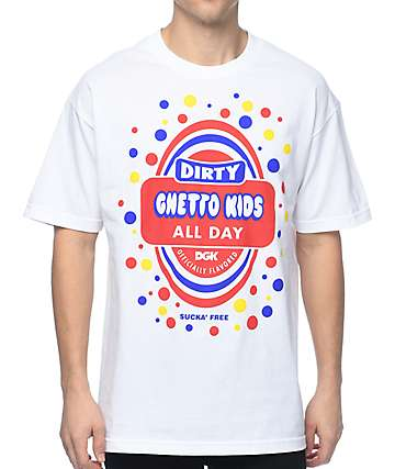 DGK Sucka Free White T-Shirt